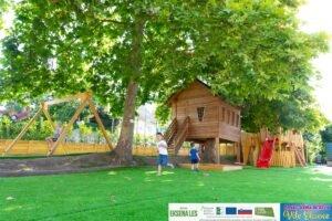 Pravljična dežela Vile Eksene – otroški igralni park