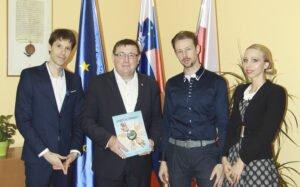 Sprejem pri g. Andreju Fištravcu, županu Mestne občine Maribor