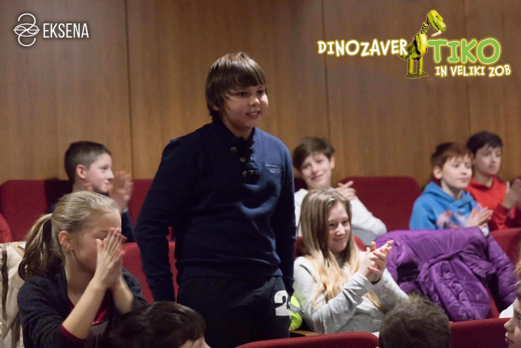 Lutkovna Predstava Dinozaver Tiko in Veliki zob Ipavčev kulturni center Šentjur