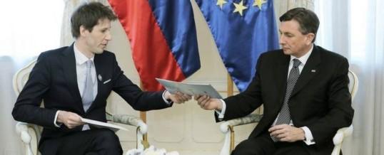 Sprejem pri g. Borutu Pahorju, predsedniku Republike Slovenije