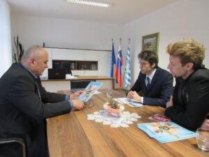 Sprejem pri županu občine Šmarje pri Jelšah g. Stanislavu Šketu