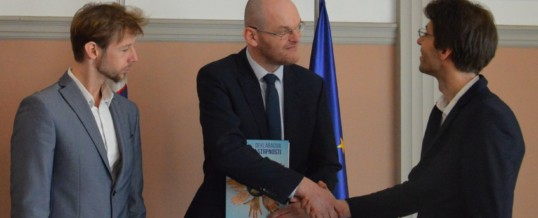 Sprejem pri ministru za pravosodje, mag. Goranu Klemenčiču