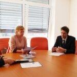 Sprejem pri predsednici Zveze prijateljev Slovenije, ge. Darji Groznik Eksena Deklaracija o načelih strpnosti Turenaj strpnosti