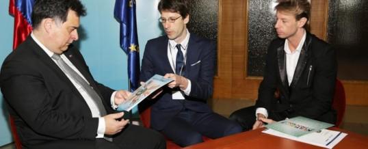 Sprejem pri predsedniku Državnega sveta Republike Slovenije, g. Mitji Bervarju
