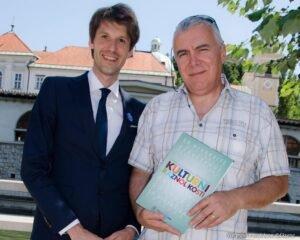 Sprejem pri slovenskem glasbeniku, g. Zoranu Predinu turneja strpnosti eksena