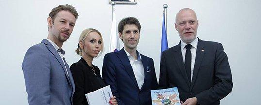 Predsednik Državnega zbora sprejel predstavnike projekta Mi smo ZA STRPNOST